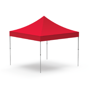 Custom branded aluminium gazebo's